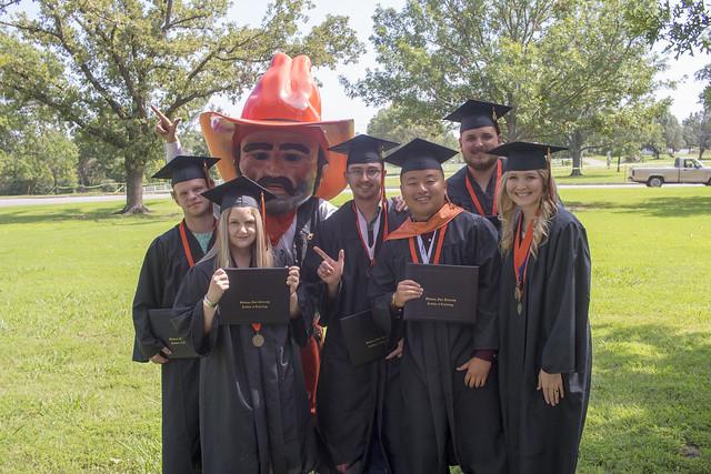 2018 Summer Afternoon Graduation