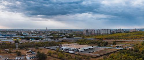 Панорама с 18 этажа