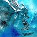 photo tableau macro glace / le nom du tableau : Notre avenir ? by BOILLON CHRISTOPHE