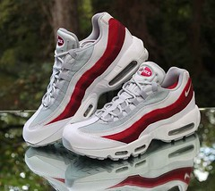 Nike Air Max 95 Essential Retro 749766-103 Men s Size 11 White Wolf Grey a6af5c9d1adc