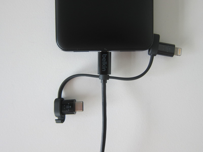 Belkin Universal Cable - Micro USB - Plugged-In