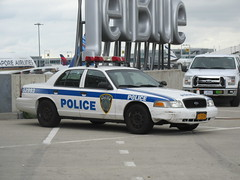 Port Authority Police Ford Crown Victoria