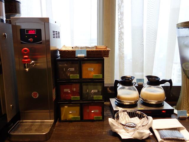 牛奶、豆漿、茶飲、咖啡@高雄H2O水京棧國際酒店