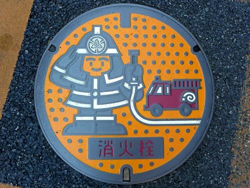 Tokorozawa Saitama, manhole cover 3 (埼玉県所沢市のマンホール3)
