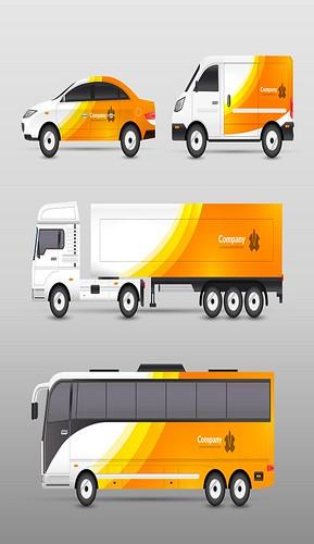 Transport Advertisement Design