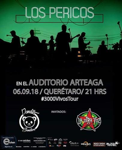Los pericos en Querétaro