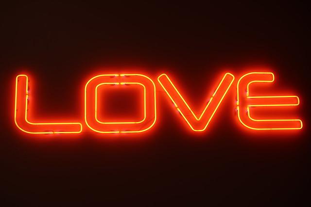 LOVE - Te Papa museum - Wellington New Zealand