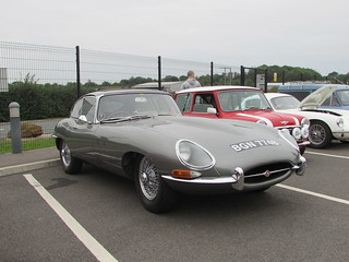 Jaguar E-Type Series 1 Coupe BGN774B | by Andrew 2.8i