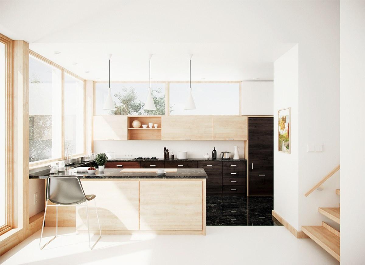 Berbagai Model Dapur berbentuk U dan Tips (bag. 4)