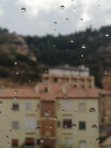 Rain. Alcorisa, Teruel