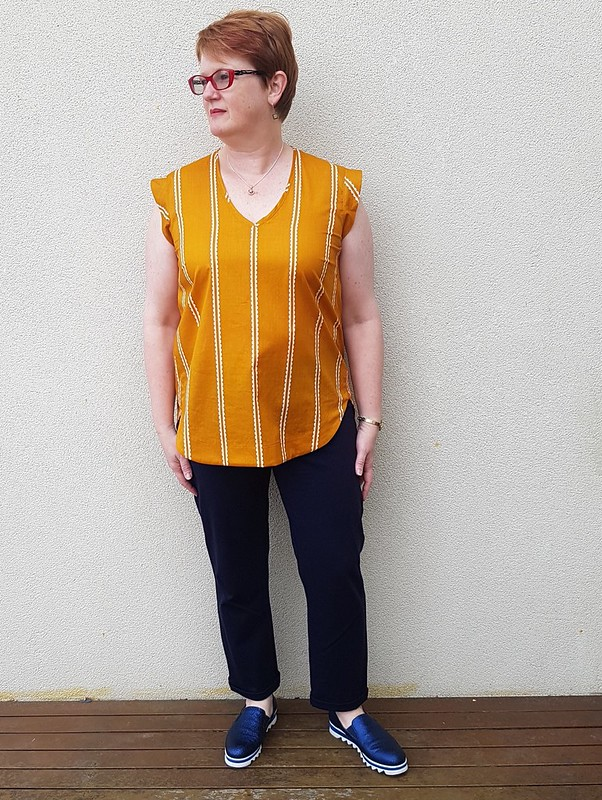 Style Arc Parker tunic in AMH voile