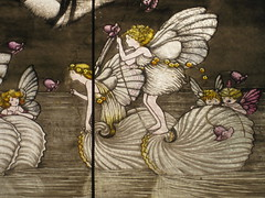 The Ida Rentoul Outhwaite Stained Glass Children's Library Windows