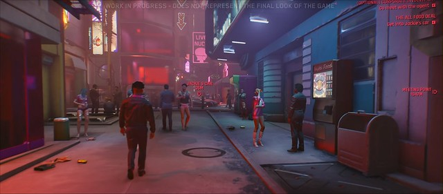 Кіберпанк 2077 - провулок