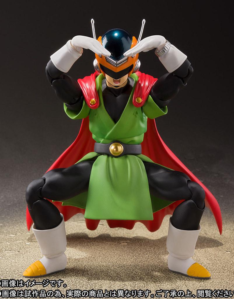 「我是熱愛正義者!賽亞超人!」S.H.Figuarts《七龍珠Z》賽亞超人 グレートサイヤマン 守護和平登場~