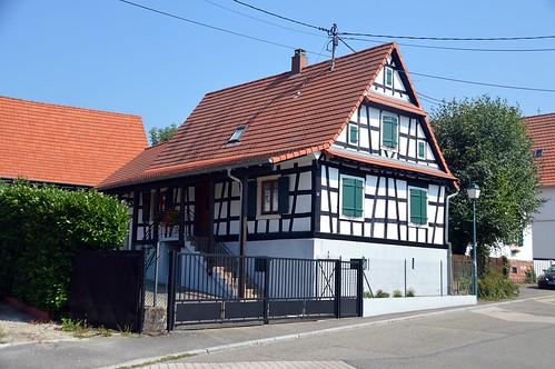 Elsässer Fachwerkhaus