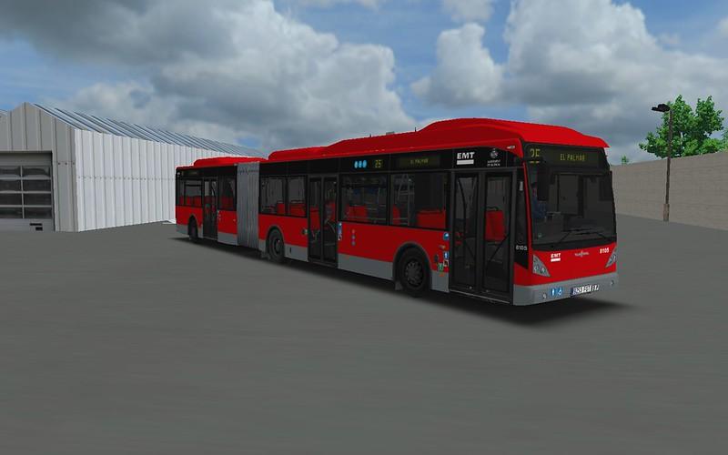 EMT Valencia Vanhool AG300 Repintado 43752365434_6e5c8dc050_c
