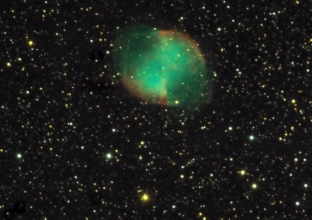 M27 - LRGB recombination of RGB data