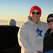 Betty and me at Mauna Kea summit by BarryFackler