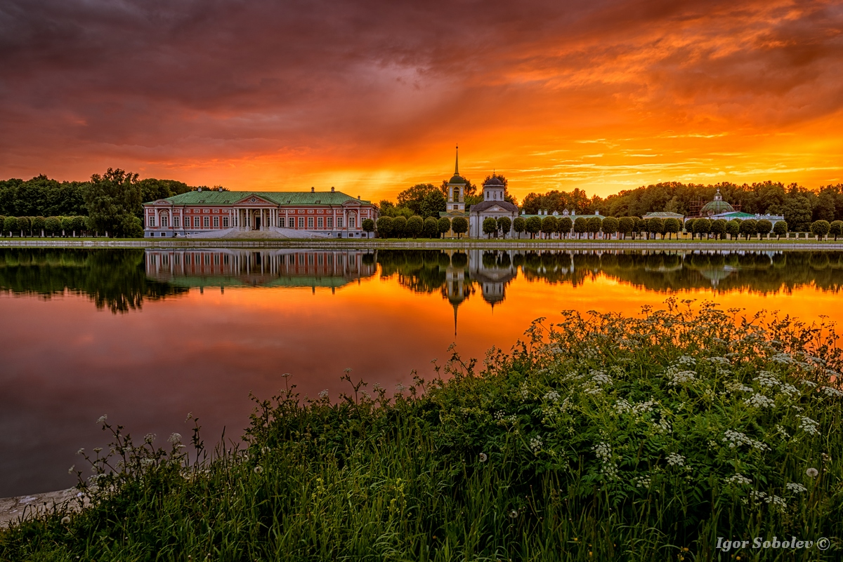 Рассвет в Кусково