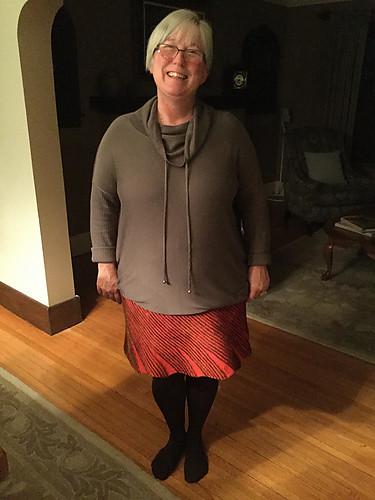 Nik's Swirl Skirt
