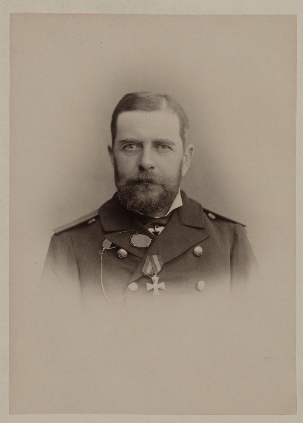П. Н. Вульф. Командир клипера Разбойник с 1886 по 1902 г.