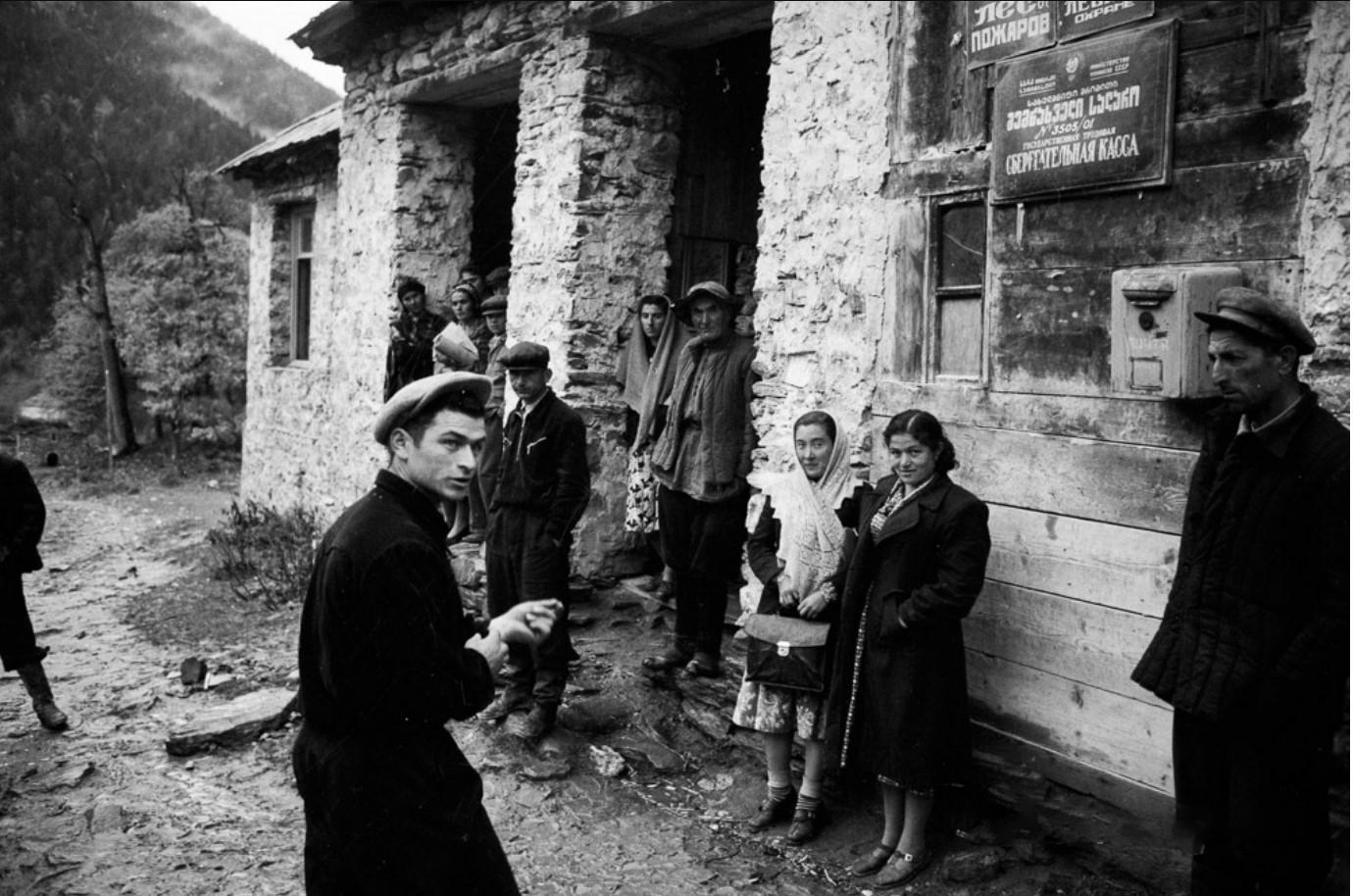 1956. Неизвестный американец в Грузии