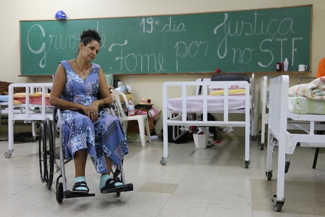 Debilitados, militantes seguem com greve de fome até que STF paute ADCs