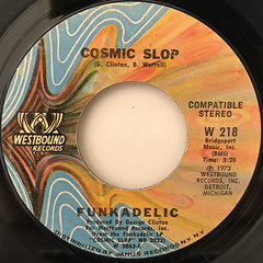 FUNKADELIC:COSMIC SLOP(LABEL SIDE-A)