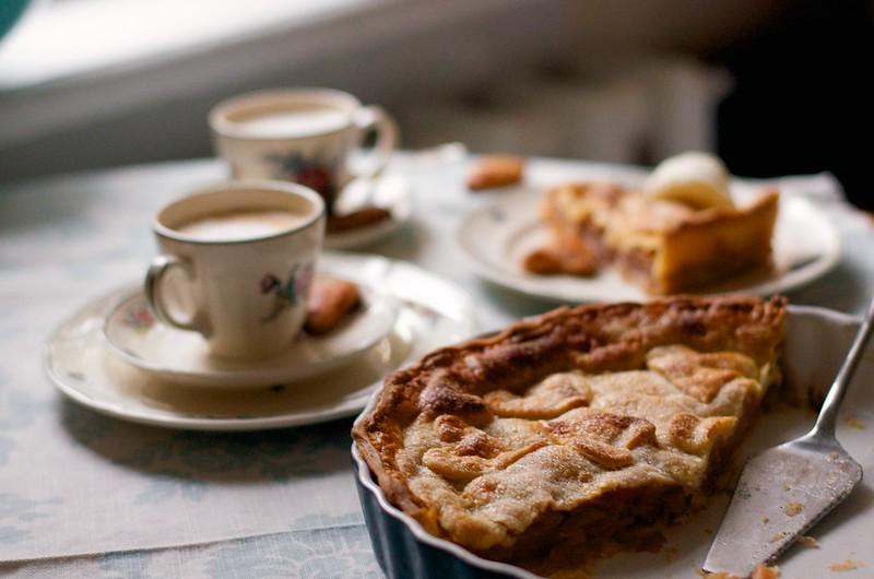 American Apple Pie / Ameerika õunapirukas