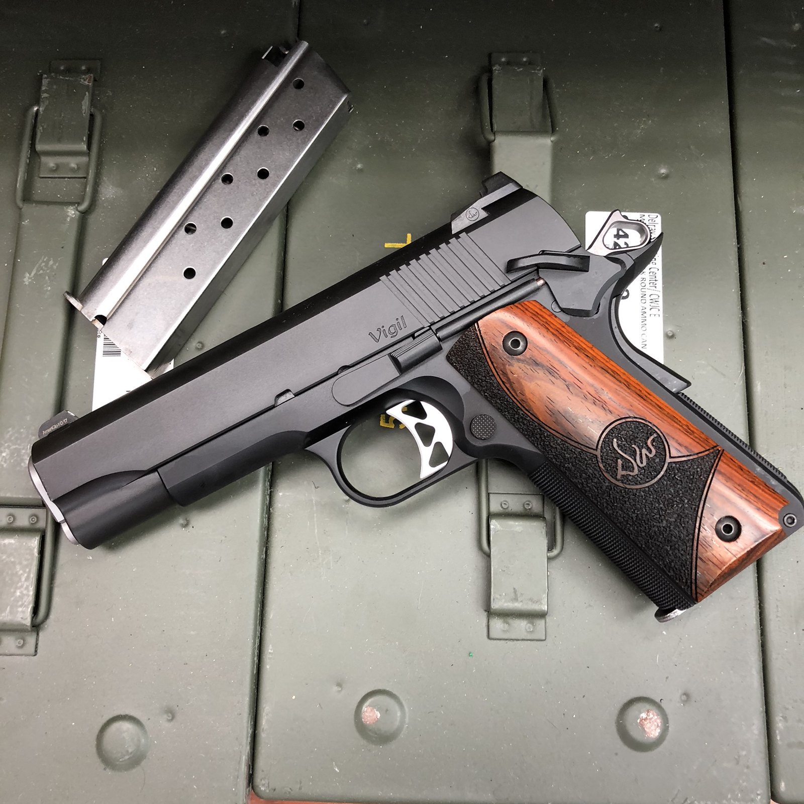 The Vigil The New Entry Level 1911 From Dan Wesson 1911forum