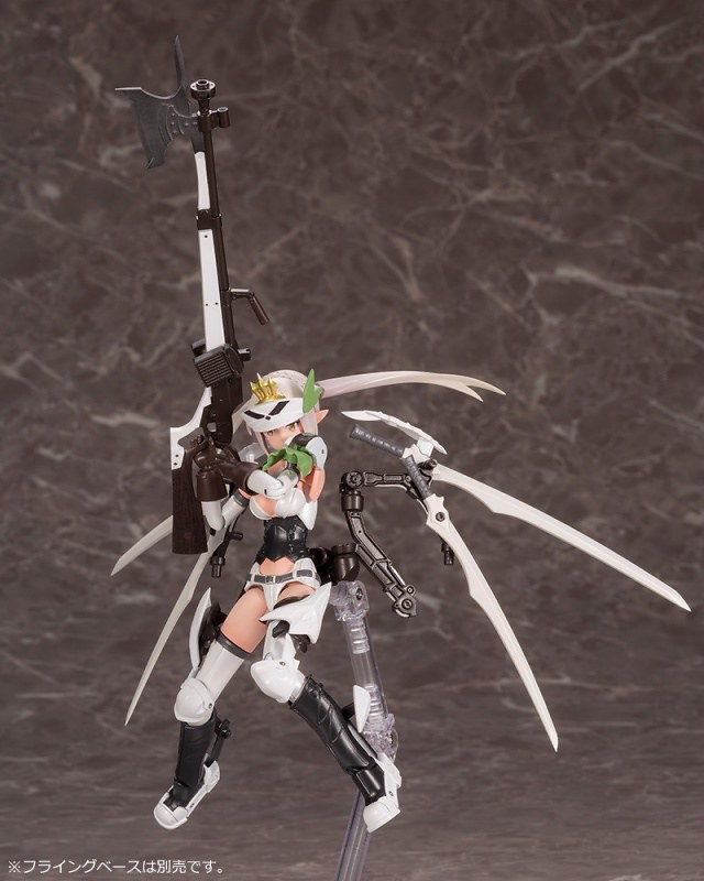 終於復活啦!壽屋『女神裝置』X『武裝神姬』合作第一彈「獵兵型 EDELWEISS(猟兵型エーデルワイス)」