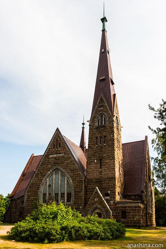 Лютеранская церковь Святой Марии Магдалины, Приморск, Койвисто
