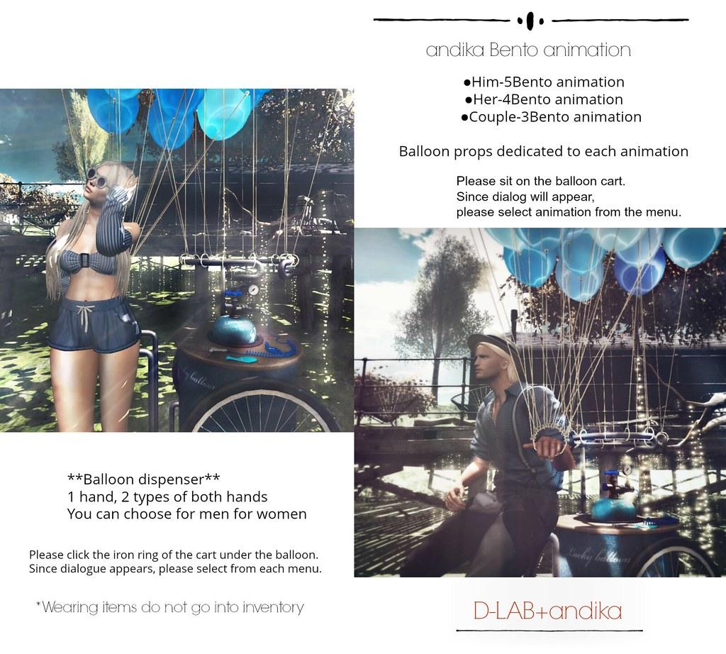 d-lab+andika::Balloon Cart-AD@Uber - TeleportHub.com Live!