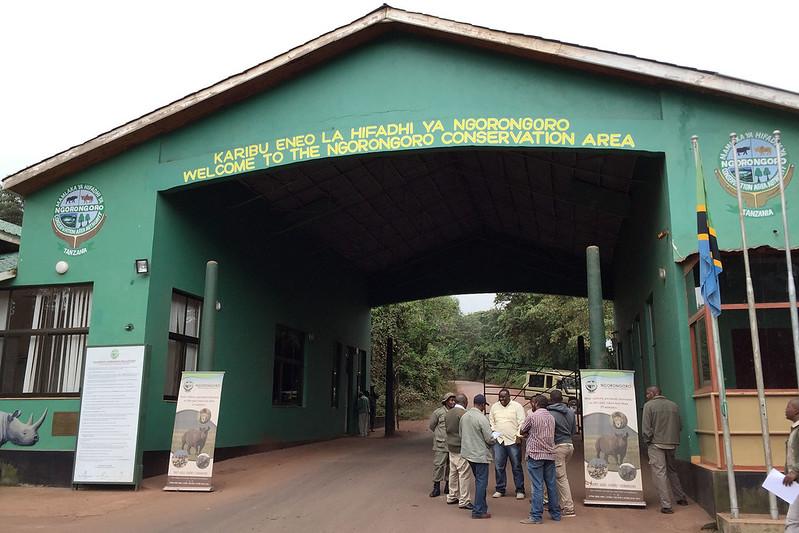 Jurassic Park gates