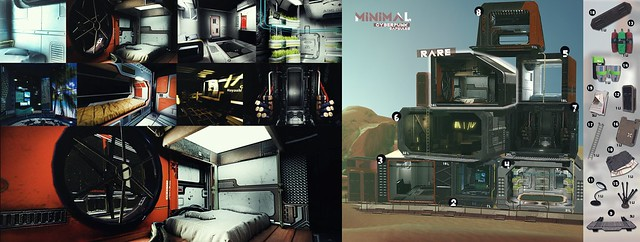 MINIMAL - Cyberpunk Capsules Gacha