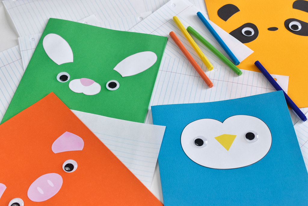 Animal Pocket Folders