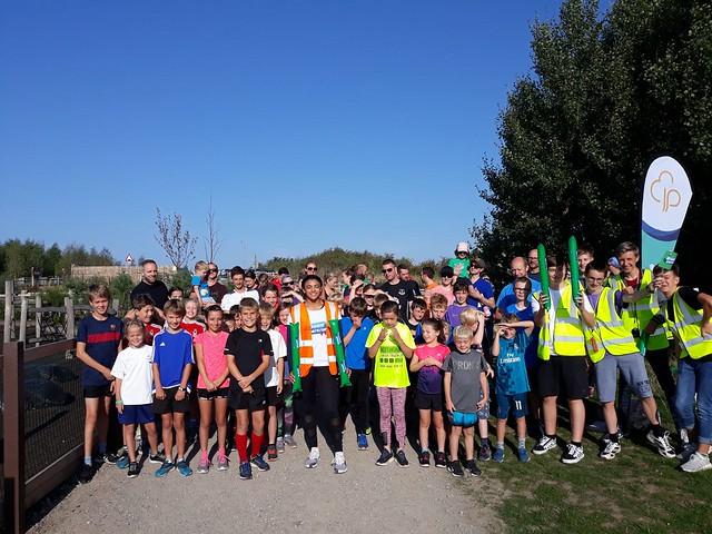 Gedling junior parkrun 2nd September 2018