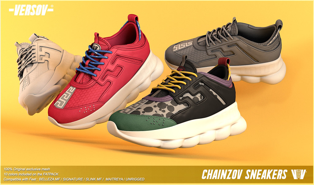 [ Versov //] CHAINZOV sneakers available at TMD