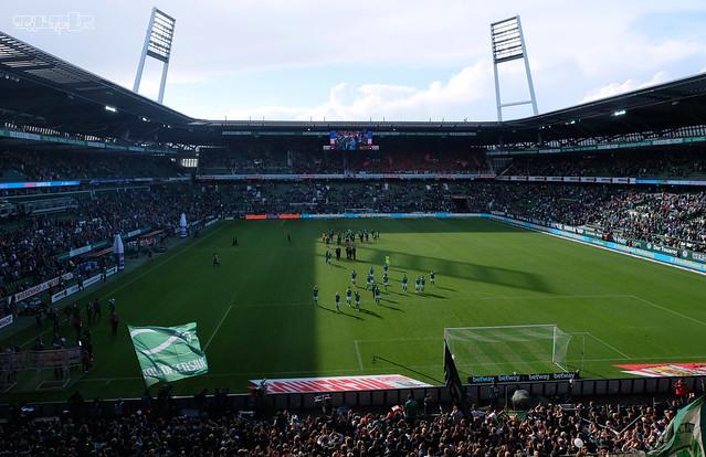 Werder Bremen vs. Hannover 96 1:1, Fujifilm X-M1, XC16-50mmF3.5-5.6 OIS