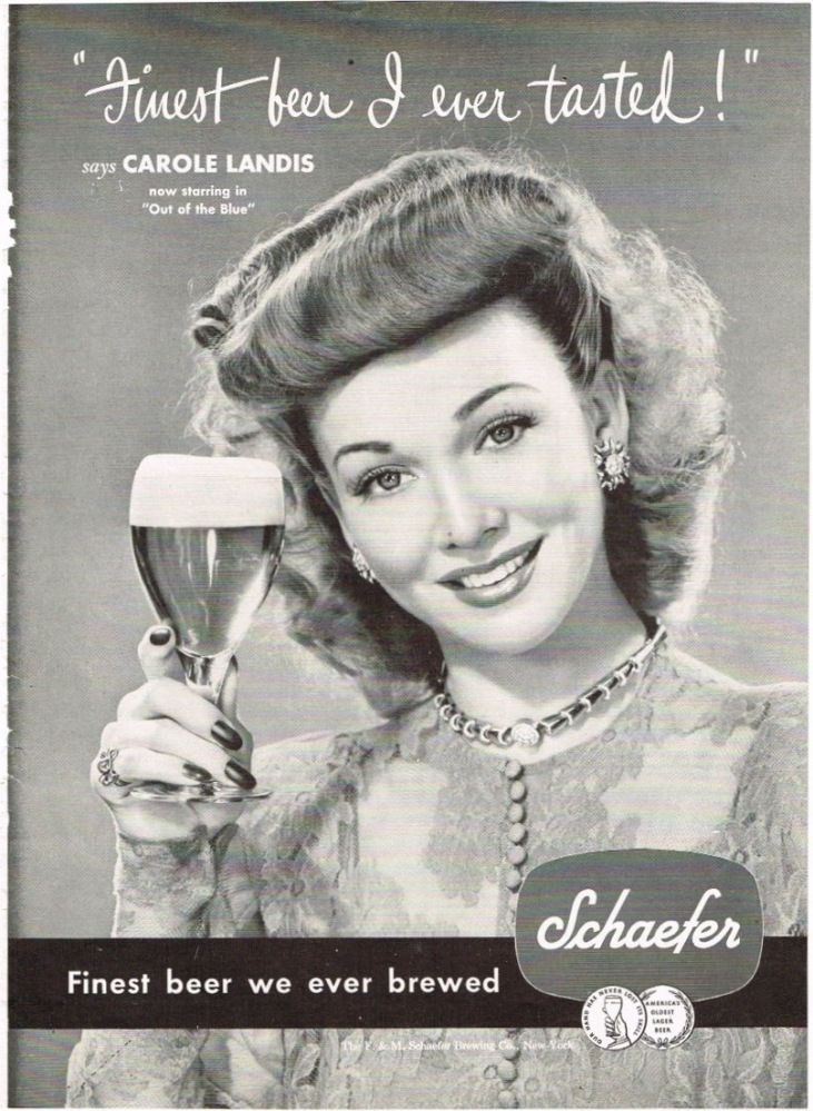 Schaefer-1947-finest-beer