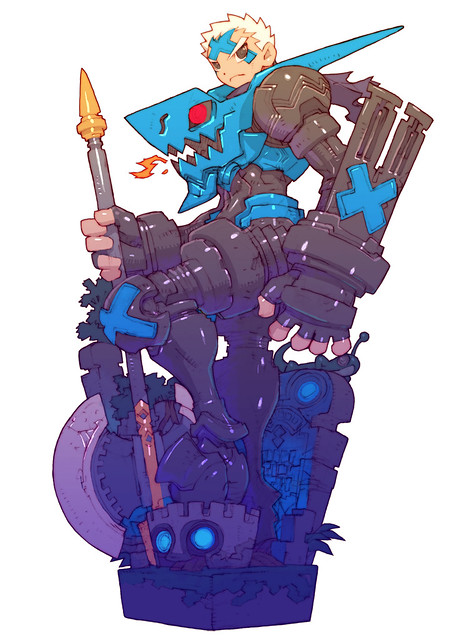 Dragon Marked For Death 戦士イラスト