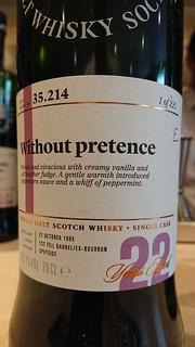 SMWS 35.214 - Without pretence