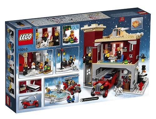 10263 Winter Village Fire Station 2
