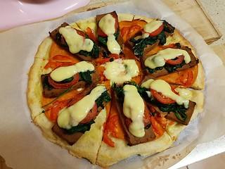 Benedict Pizza