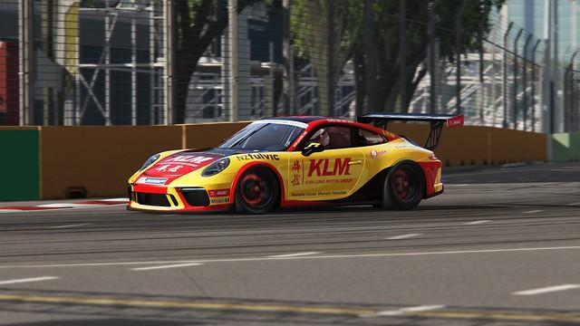 Porsche GT3 Cup - Carrera Cup Asia 2018 - van der Drift - Singapore (4)