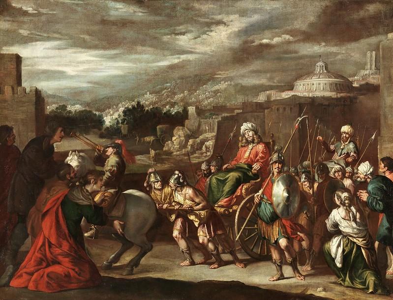 Antonio del Castillo y Saavedra - El triunfo de José en Egipto