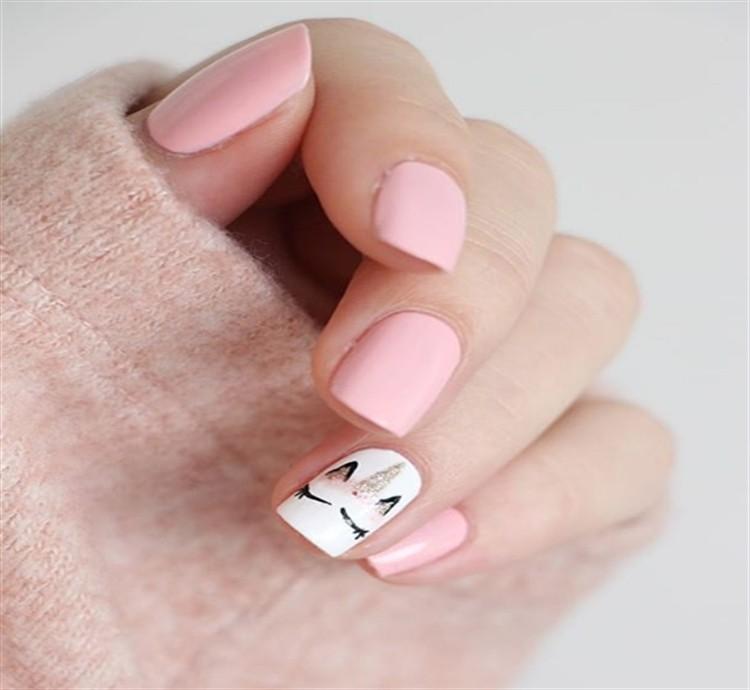 Top 32 Simple Nail Art Designs Trends deas