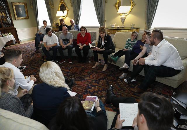 Who Cares? Scotland Bookclub