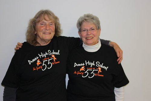 1955 AHS Alumnae Leah Mully left Mary Kay Winkler Abbott right IMG 0963  2010-9-29