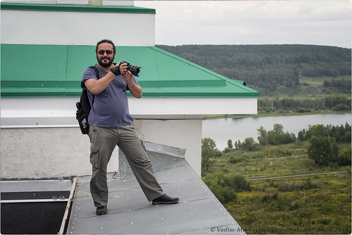 NickFW на крыше возле башенки © Vadim Mikhaylin - 27.08.2018